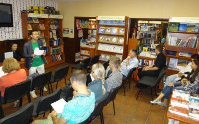 «Жива бібліотека», приурочена до Міжнародного дня миру