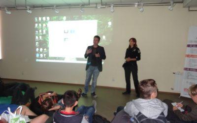 На фестивалі анімації підлітки дізналися, як з поліцією спілкуватися