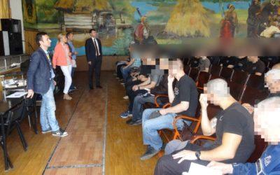 У Холодногірській виправній колонії № 18 на Харківщині відбувся правоосвітній захід про дотримання виборчих прав у місцях несвободи