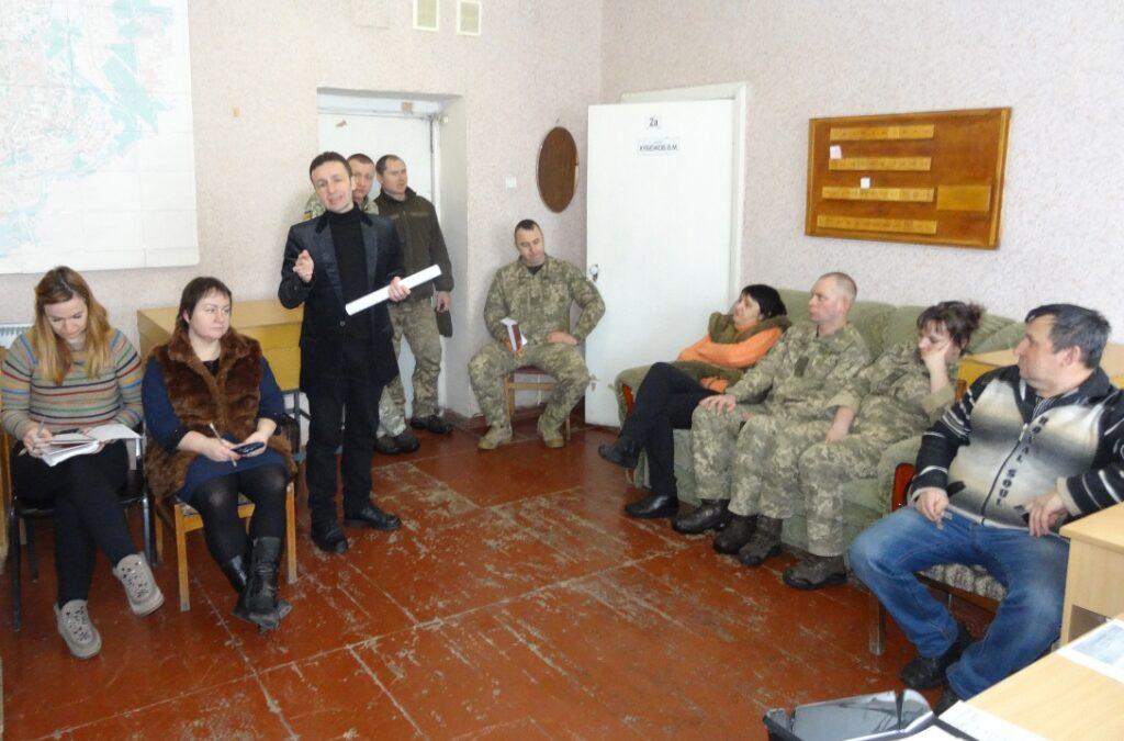 Співпраця військових та громади – необхідна