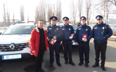 На Харківщині поліцейські офіцери громади приступили до виконання обов'язків